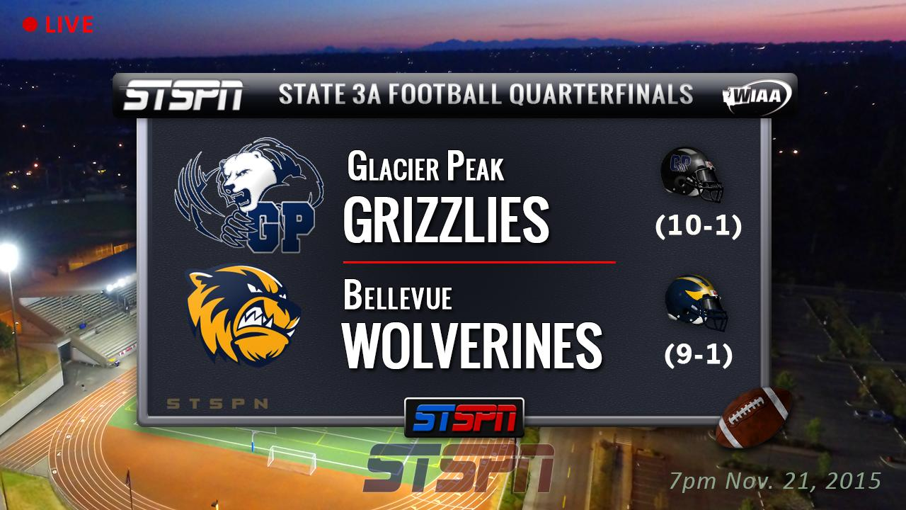 Bellevue at Glacier Peak Grizzlies State Football