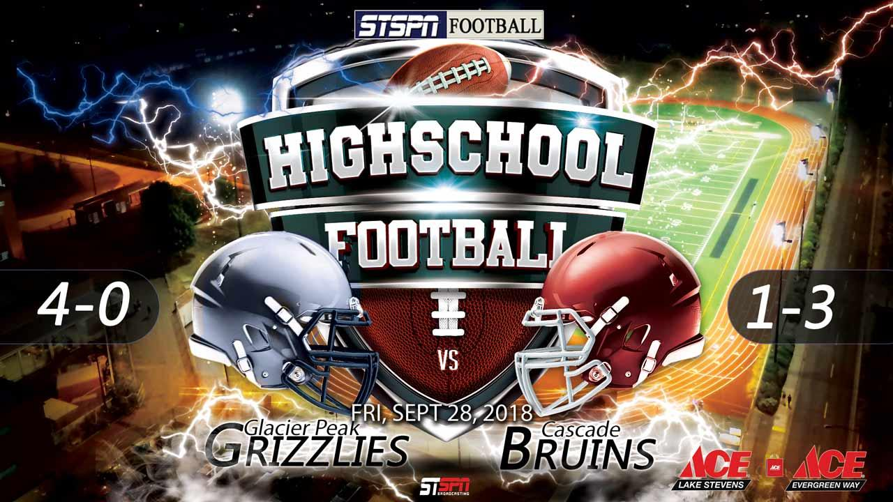 FOOTBALL: Bruins at Grizzlies