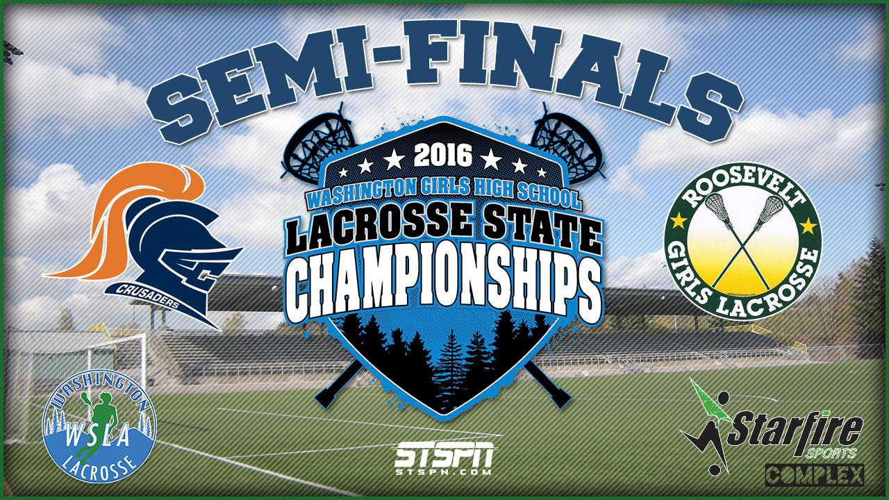 Girls Lacrosse State Semi-Finals 2016 GM2
