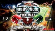 FOOTBALL: Warriors at Panthers