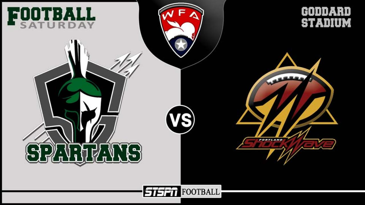Spartans vs Portland Shockwave