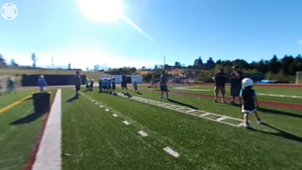 Youth Camp at Glacier Peak 360 Video